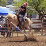 rider doing poles