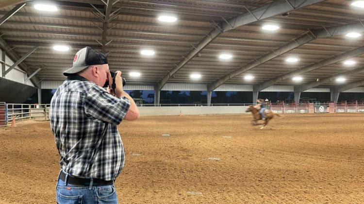 Barrel Racing Photography in Arizona
